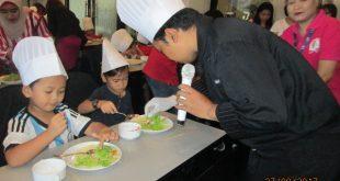 """Cara Didik Anak Belajar buat Kebab di """"Kids Cooking Class"""" 23"""