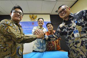 Dendy R Sutrisno Resmi jadi Kepala KPD KPPU Surabaya 1