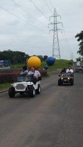 Seru-seruan Pakai Mini Jeep Keliling Citra Land Bersama Komunitas dan Media 2