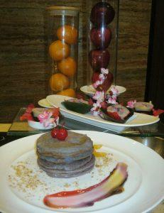 Sajikan Pancake Ubi Ungu dan Talam 2