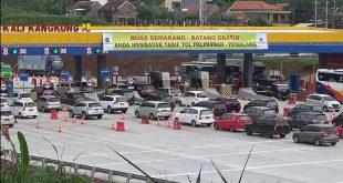 Catat 96.430 Kendaraan Lintasi Gerbang Tol Kali Kangkung H-2 Natal 25