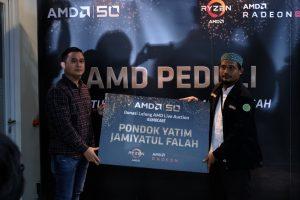 Peduli Korban Bencana, AMD Bersama Wahana Visi Indonesia Beri Bantuan Bagi Disaster Recovery Center 1