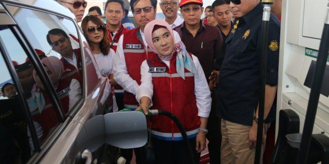 Pertamina Amankan Pasokan BBM Jalur Tol Trans Jawa 10