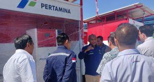Dirjen Migas Kunjungi Sarfas Pengisian BBM dan Posko Satgas di Ruas Tol Jatim Dalam Memantau Kesiapan Layanan Mudik 4
