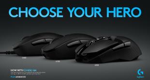 Logitech G Perkenalkan 3 Generasi Mouse Gaming Berteknologi Sensor HERO 16 K 4