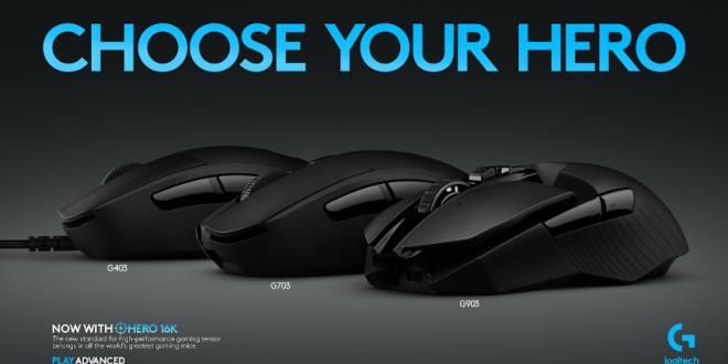 Logitech G Perkenalkan 3 Generasi Mouse Gaming Berteknologi Sensor HERO 16 K 28