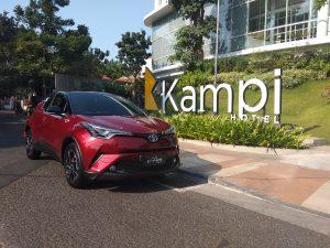 Dahului Kompetitor, C-HR Hybrid dikenalkan di Surabaya 1
