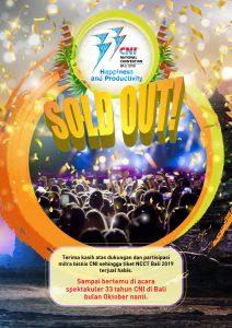 CNI National Convention 2019 Mampu Jual 1000 Tiket 1