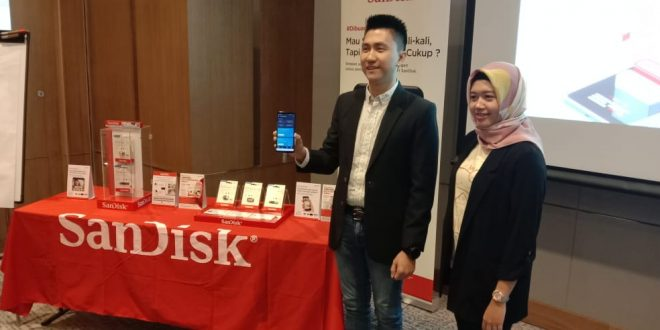 Trend Pengguna Smartphone di Surabaya Malas pindah Data, Sandisk Punya Solusi 10