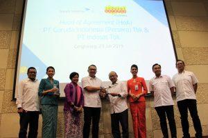 Optimalisasi Transformasi Digital, Indosat dan Garuda Bekerjasama 1