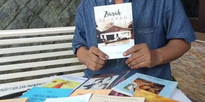 """Buku """"Ziarah Sejarah"""" Sering jadi Literasi Penulis 4"""
