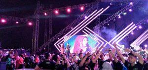 Ribuan Pecinta Dangdut Ramaikan Semarak Indosiar 1