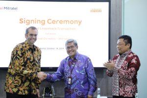 Sepakat, Indosat, Mitratel dan Protelindo Tandatangani Perjanjian Jual Beli 3100 Menara 1