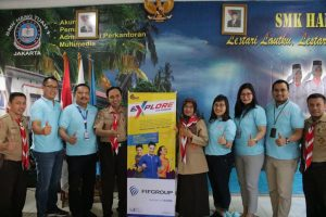 FIF Group Beri Pelatihan Kerja Bagi Pelajar SMK 1