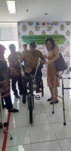 Ada Sepeda Untuk Pasien Pasca Stroke Buatan Mahasiswa ITS 1