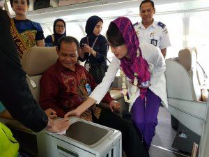 Batik Air Lakukan Penerbangan Perdana ke Madina 2