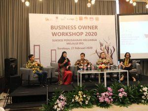 BEI Gelar Business Owner Workshop 1