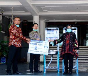 Rucika Dukung Kegiatan Pemkot Surabaya dengan Pemasangan Wastafel 1