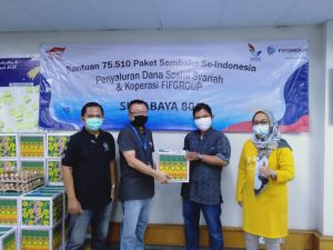 5.400 Paket Sembako Disalurkan 34 Kantor Cabang FIFGroup di Jatim 1