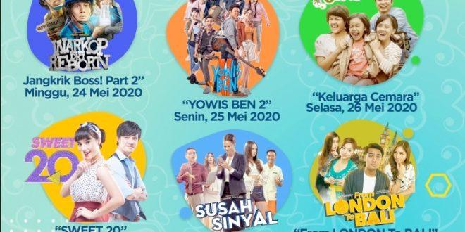 Rayakan Lebaran, SCTV lanjutkan tradisi putar Film Spesial 10