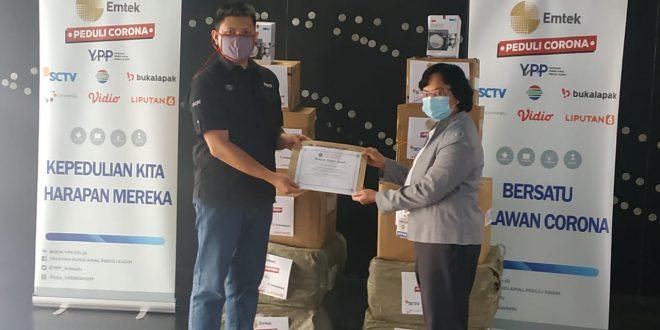 Emtek peduli Corona merambah ke Indonesia Tengah 1