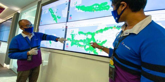 Lebaran di Tengah Corona, XL Axiata Catat Kenaikan 25 Persen Trafik data 4