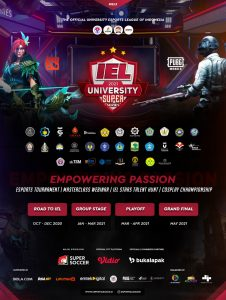 Liga Esports IEL University Super Series 2021 Season 3 Telah Dimulai 1