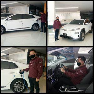 Hyundai Hadirkan Dua Mobil Listrik, Kona dan Ioniq 1