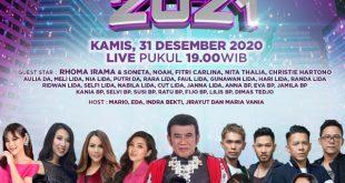 Sambut Tahun Baru, Indosiar Gelar Konser Akhir Tahun 4
