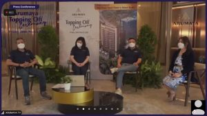 Hongkong Land dan Astra Property Lakukan Topping Off Ceremony Arumaya Residences 1