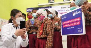 Dukung PJJ, XL Donasikan Smartphone Untuk Pelajar Tak Mampu 3