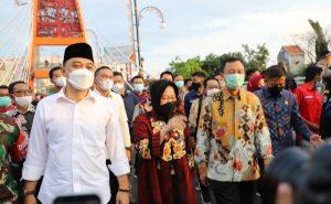 Jembatan Sawunggaling dan TIJ Resmi Dibuka Wali Kota Surabaya 1