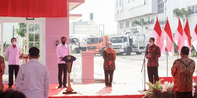 Jokowi Resmikan PSEL Benowo Surabaya 2