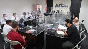 Empat Terlapor Dugaan Pelanggaran Paket Pembangunan Pelabuhan Penyeberangan Paciran Diperiksa KPPU 1