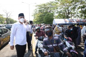 Pemkot Surabaya Gelar Tes Antigen di Suramadu, Temukan 70 Pengendara Positif 1