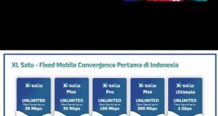 XL Satu Fiber, Layanan Konvergensi Pertama di Indonesia 5