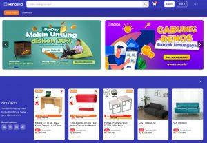 Renos.id, Marketplace Online Belanja Home Living Kini Hadir di Indonesia 1