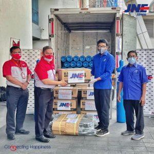 JNE Galang Donasi Tabung Oksigen Gratis Untuk Rumah Sakit se-Indonesia 1