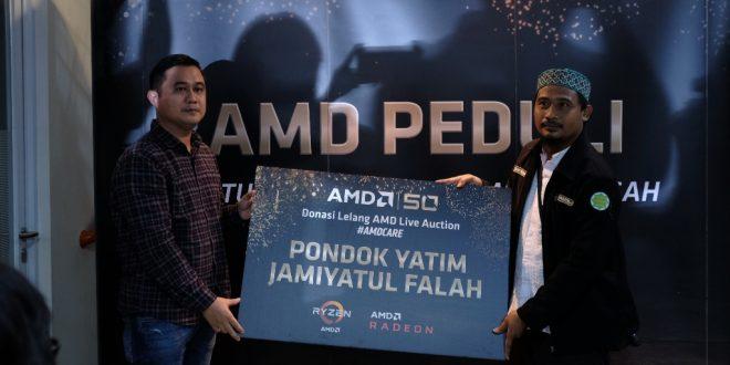 Peduli Korban Bencana, AMD Bersama Wahana Visi Indonesia Beri Bantuan Bagi Disaster Recovery Center 24
