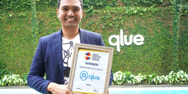 Awali 2020, Qlue Raih Best IoT Startup 21