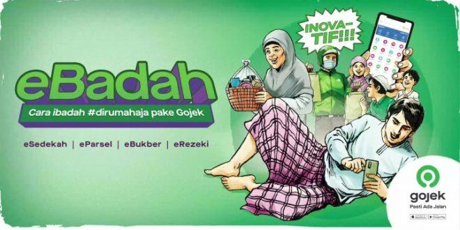Mudahkan Pengguna Selama Ramadan, Gojek Kenalkan Inisiatif eBadah 12