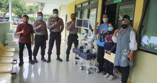 Wagub Apresiasi Kepedulian dan Bantuan Polri Sumbangkan Ventilator tuk Jatim 6