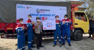 Pertamina Peduli, Bantu Warga Terdampak Bencana NTT 5