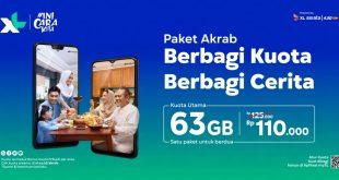 Momen Ramadhan Lebaran, XL Rilis Paket Akrab Untuk Keluarga 7