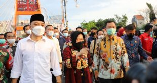 Jembatan Sawunggaling dan TIJ Resmi Dibuka Wali Kota Surabaya 2