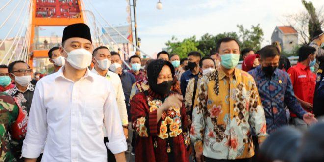 Jembatan Sawunggaling dan TIJ Resmi Dibuka Wali Kota Surabaya 9