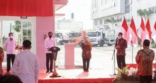 Jokowi Resmikan PSEL Benowo Surabaya 1