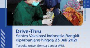 28 Ribu Lansia Telah di Vaksin, XL Axiata Perpanjang Sentra Vaksinasi Indonesia Bangkit 4