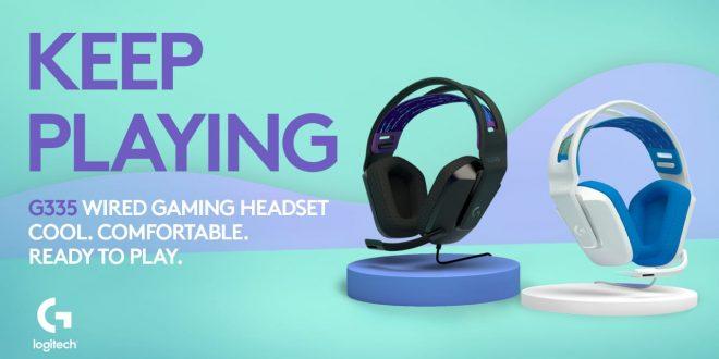 Logitech G335, Headset Gaming Terbaru Untuk Segmen Remaja 1