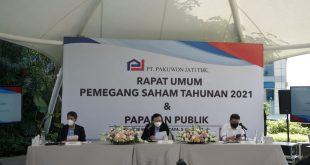 Hasil RUPST Pakuwon Jati, Putuskan Tak Bagi Dividen 9